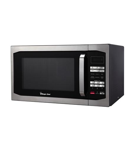 MAGIC CHEF 1.6 cf 1100 Watt Microwave STAINLESS