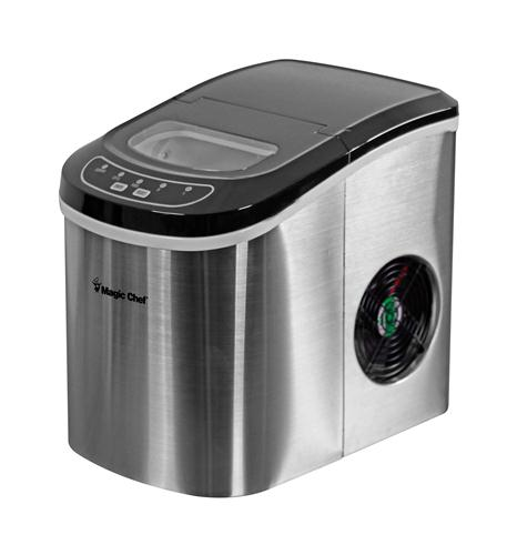 MAGIC CHEF 27 lb ice maker STAINLESS