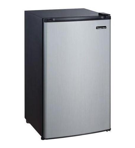 MAGIC CHEF 3.5 cf Refrigerator STAINLESS