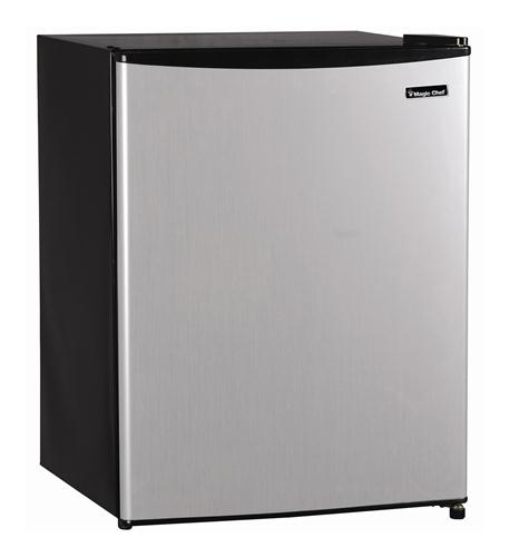MAGIC CHEF 2.4 cu.ft. Refrigerator STAINLESS