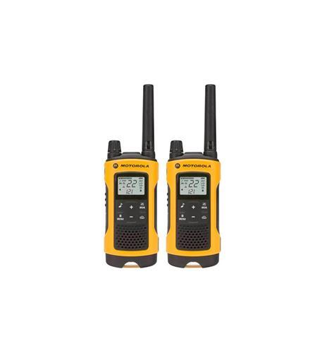 Motorola FRS 35 Mile 2 Pack Weatherproof NOAA Radios