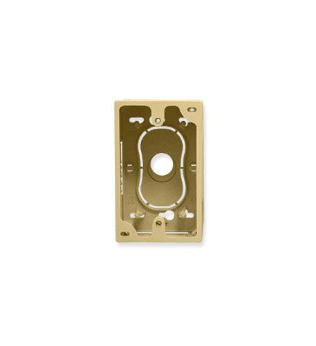 ICC JUNCTION BOX, 1-GANG, IVORY
