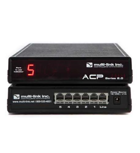 Multi-Link Line Sharing 5 Port Call Router