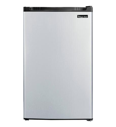 MAGIC CHEF 4.4 cf Refrigerator  STAINLESS