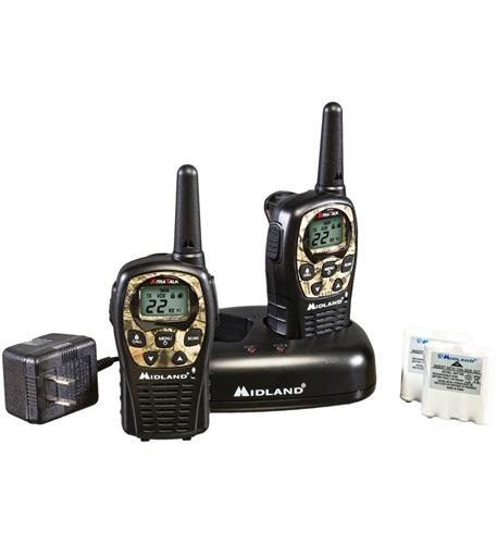 MIDLAND RADIO GMRS 2-Way Radio (Up to 24 miles)