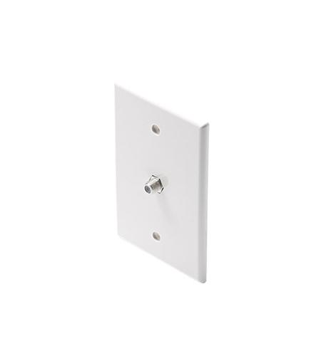 Steren TV Midsize Plate White w/Coupler