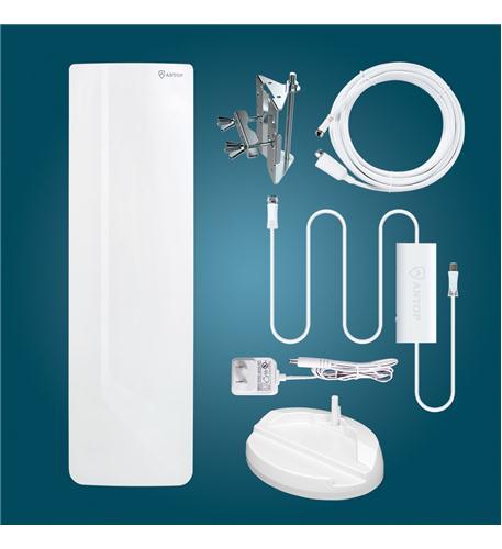 Antop Antenna Inc. Flat-panel Smartpass Amp Outdoor/Indoor