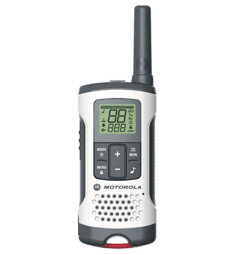 2-Way Radio, 2-Pack, 25Mi., White, Case