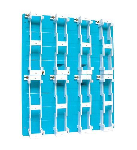SUTTLE 1 Sutttle Backboard-8 Block - Blue