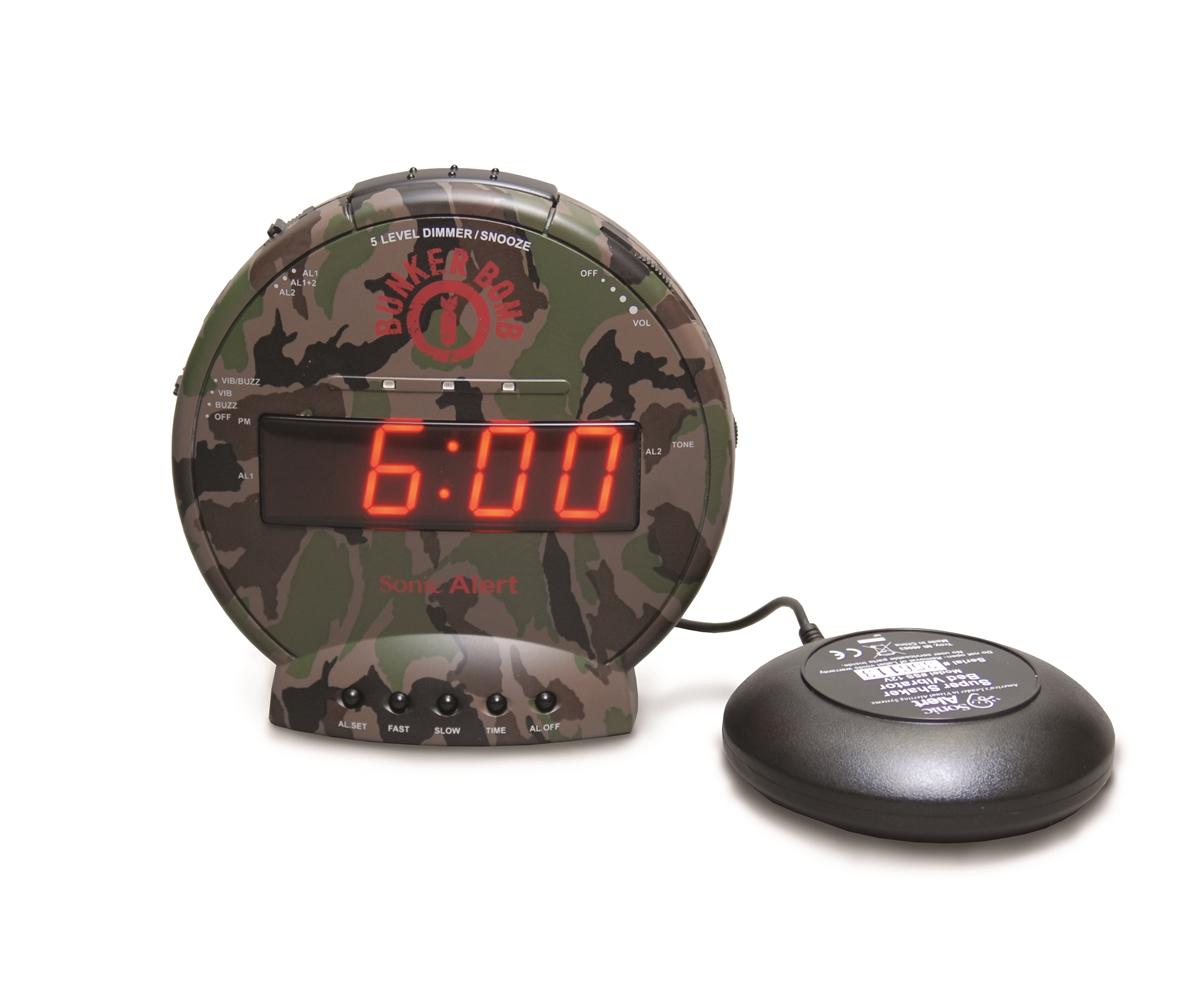 sonic bomb bunker bomb alarm clock