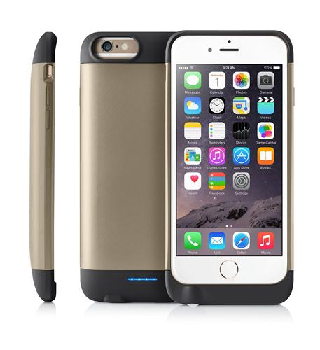 iBattz PTE LIMITED 3200mAh Battery Case ip6/6S -GOLD