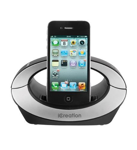 iCreation iCreation Bluetooth Handset with Dock