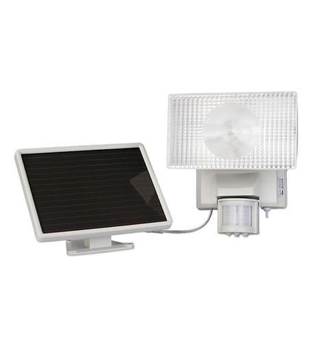 MAXSA Innovations Solar-Powered 30Watt Security Floodlight