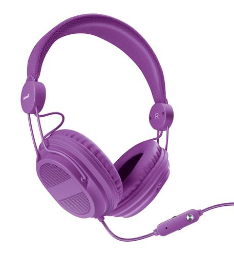 iSound HM-310 Kid Friendly Headphones Purple