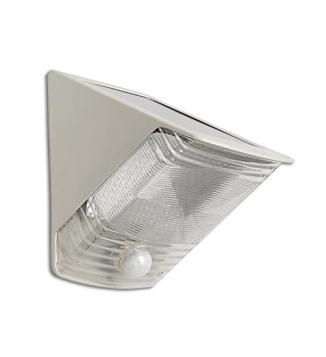 MAXSA Innovations 2 LED Solar Motion-Activated Wedge Light