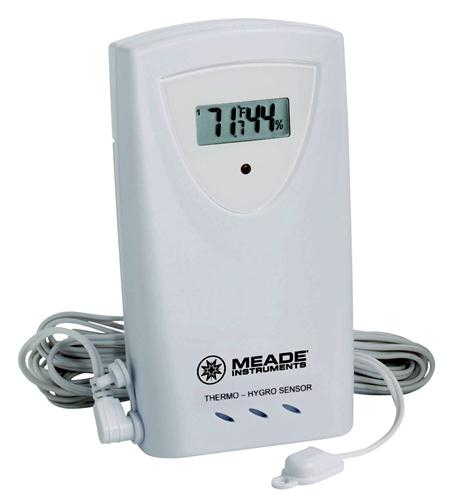Meade Instruments Corporation Temp/Humidity LCD Sensor with Probe