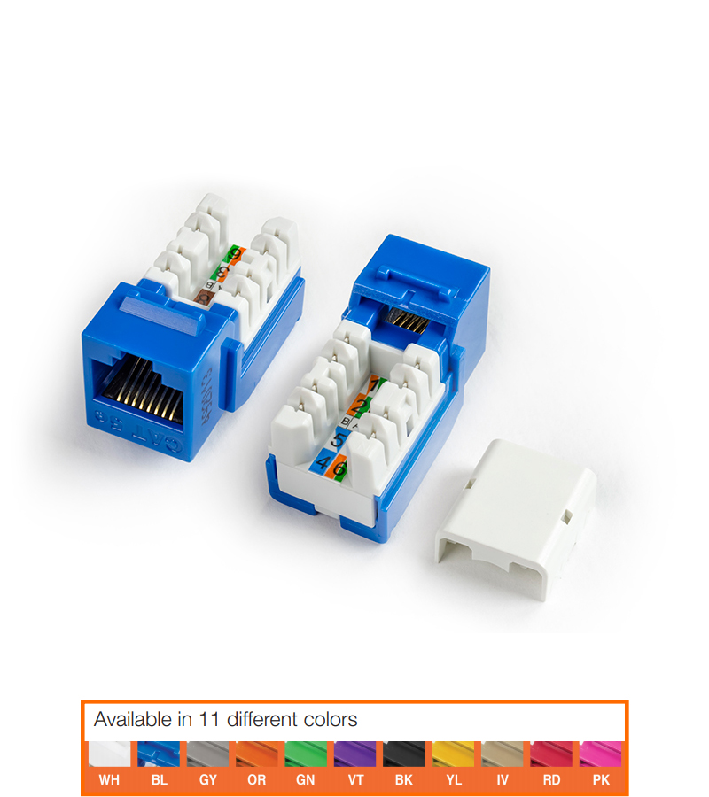 CAT5 JACK PACK BLUE