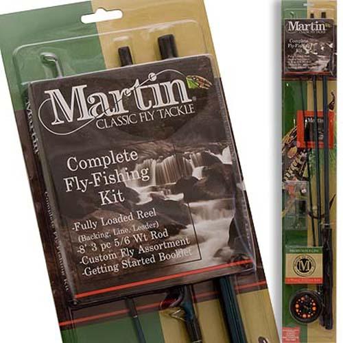 Zebco Martin® CADDIS CREEK 65 COMBO FLY ROD /& 21-14526 ZEB-CC65CNS6