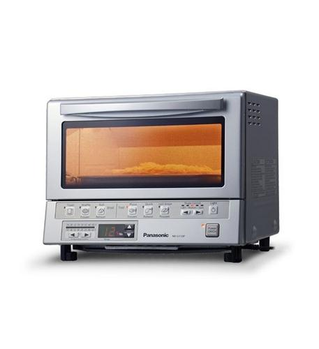 Panasonic Consumer Flash Xpress Toaster Oven in Silver