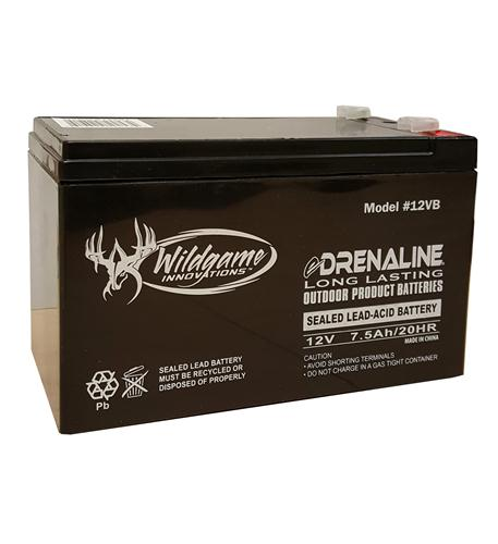 Wildgame Innovations 12 Volt Gel Cell Rechargable Battery 7A