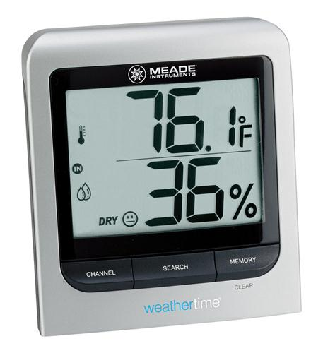 Meade Instruments Corporation Wireless Indoor/Outdoor Thermometer