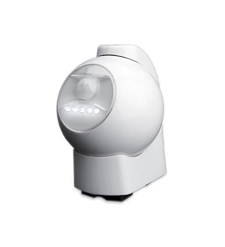 MAXSA Innovations 5 LED Motion-Activated Light - White