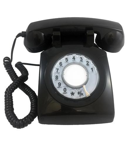 Cortelco Cortelco Rotary Phone Black